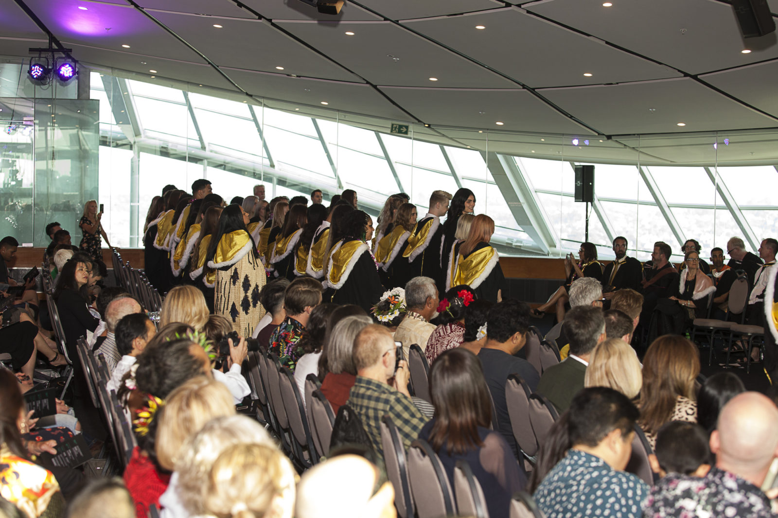 Whitecliffe Graduation at Auckland Museum, 2019