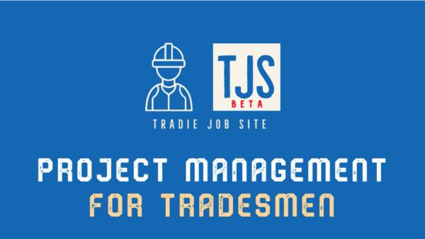 Tradie Job Site (TJS) - L6 Software Development